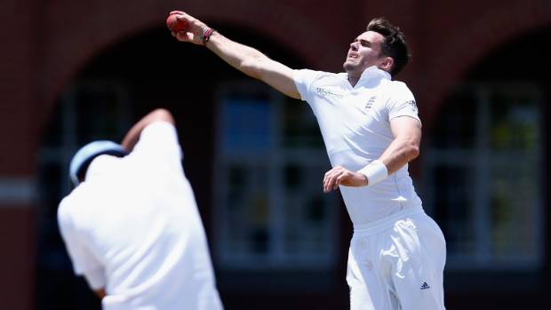 James Anderson was on form against South Africa in mid-December.