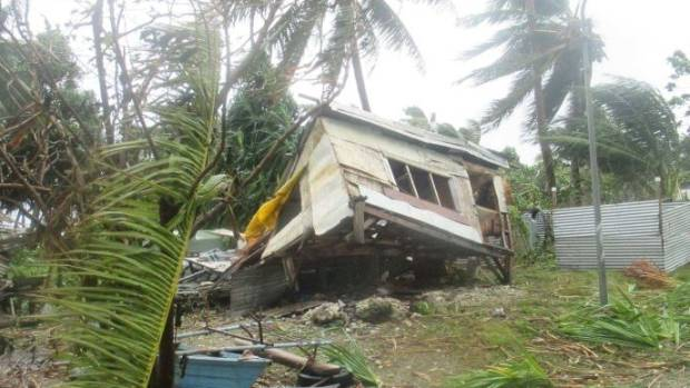 The cyclone reportedly damaged 40 homes in Tuvalu, near where Ula began to form.