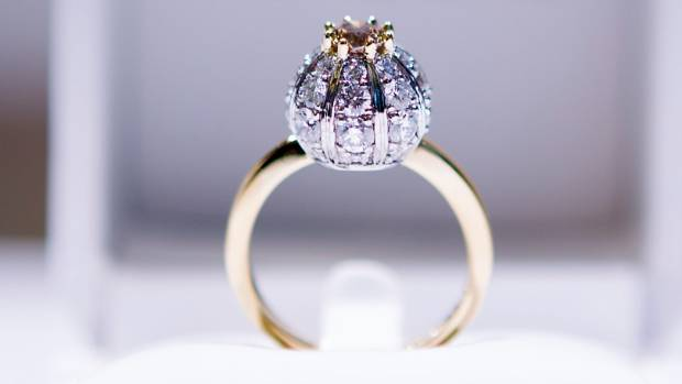 The $20,000 ring from Auckland's Naveya & Sloane.