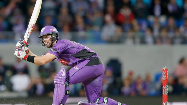 Hurricanes' Dan Christian in action against the Renegades.
