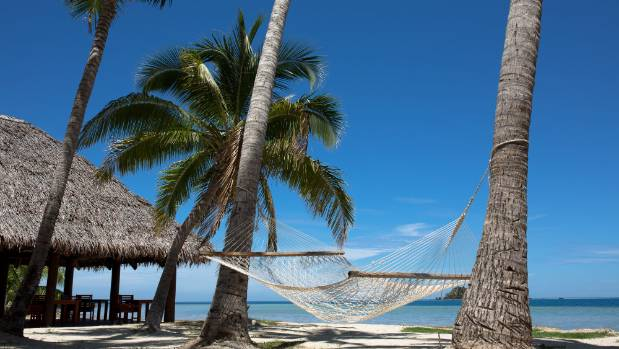 For a relaxing holiday all you need is sun, sand and a hammock.