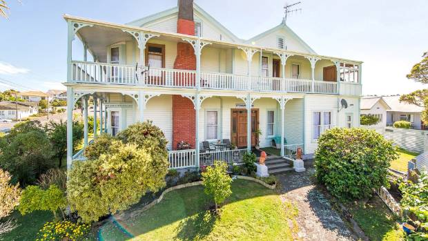 The grand Stewart House built for one of the Whanganui's founding fathers has been placed on the market.