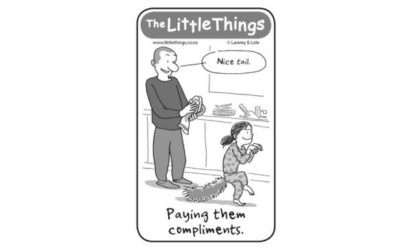 Wednesday, January 6: Paying them compliments