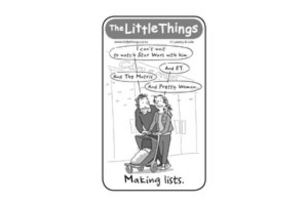 Monday, January 18: Making lists