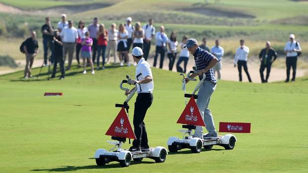 To make matters worse for McIlroy, the Euopean ended up on the wrong side of defeat in the 'Rider Cup'.