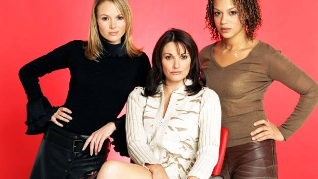 **** Amanda Holden (Mia), Sarah Parish (Allie) and Angela Griffin (Darcey)  Cutting It