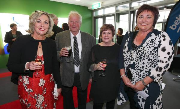 Vickie Hiini, Roy Sutherland, Charmaine Sutherland and Kathryn Ladbrook, at Simply Nigella in Invercargill on Tuesday.