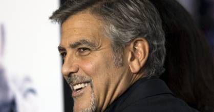 Actor George Clooney is known for his charm and humour, so is he a good role model?