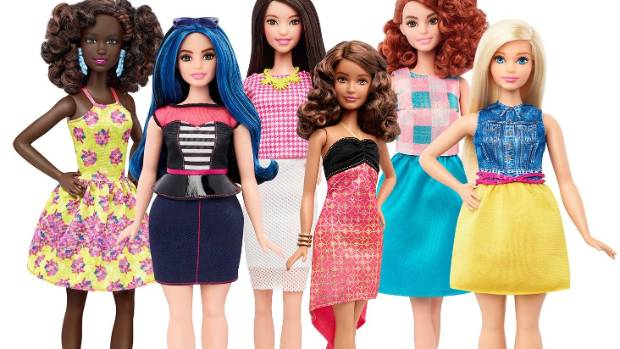 For the world's most scrutinized body, changes for Barbie