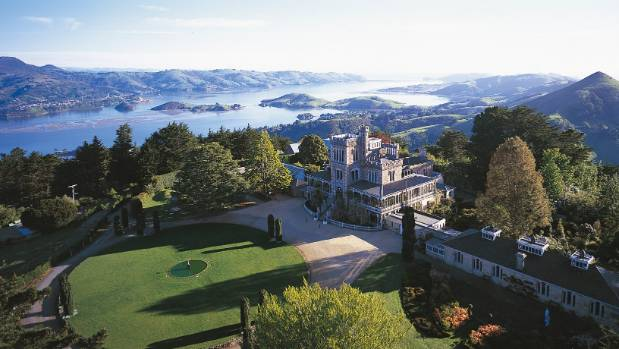 Make your loved one feel like royalty with a trip to Larnach's Castle.