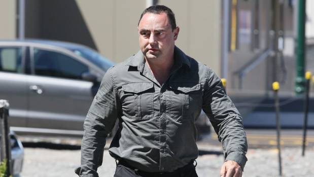 Phillip Musson arriving at the Christchurch District Court in 2012.