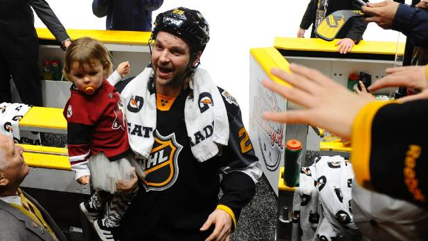 John Scott takes shot at National Hockey League before playing in All-Star game