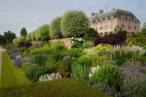 Think of the upkeep - this amazing herbaceous border is part of the vast garden at Eaton Hall. The project, designed by Arabella Lennox-Boyd FSGD won the Historic Garden Restoration Award, sponsored by Tendercare.
