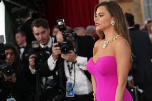 Sofia Vergara attends the 22nd Annual Screen Actors Guild Awards.