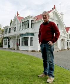 Edward Beetham, the fourth generation of his family to live at Brancepeth Station homestead, east of Masterton.