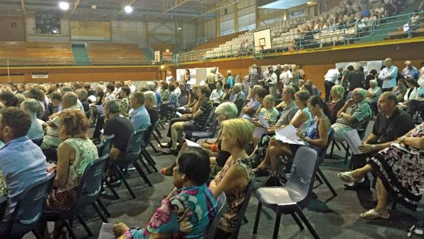 Over 600 residents turned out to a meeting in the suburb of Kohimarama on the proposed Unitary Plan on February 10.