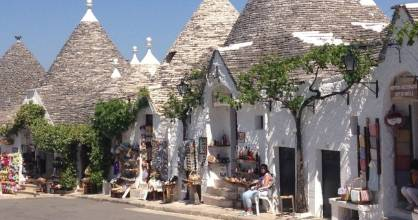 Alberobello​ may be the most-photographed village in Italy.