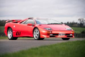 This 1999 Diablo SV is the last Lamborghini from its factory in Italy before Volkswagen completed its company takeover.