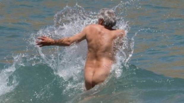 Naturists enjoy a range of activities from volleyball to swimming.