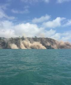 "Nick Smith was out on a Jetski tour not far from Taylor's Mistake when the earthquake hit.  ""It was the nerve racking ..."