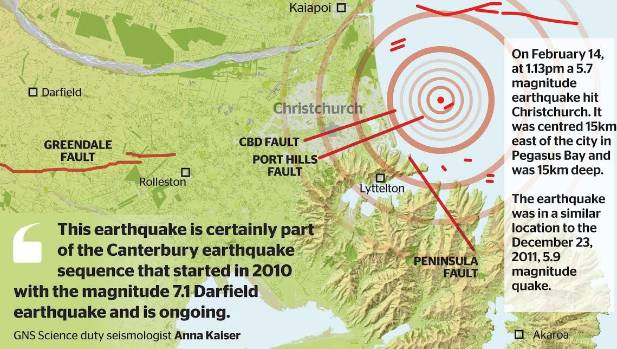 What GNS can tell us about the severe earthquake that hit Christchurch on Valentines Day.
