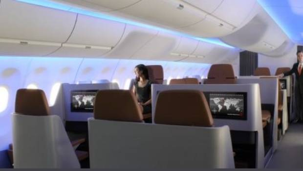 New Airline Seat Design Flips Some Seats Backwards