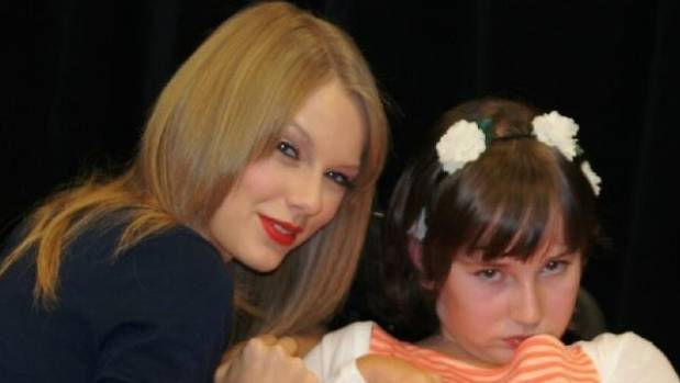 Grace has had tough times in the last four years, but some highlights too - such as meeting her beloved Taylor Swift in ...