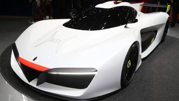 Pininfarina returns with hydrogen H2 Speed at Geneva Show