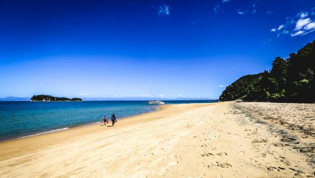 Apple Tree Bay in the Abel Tasman National Park.