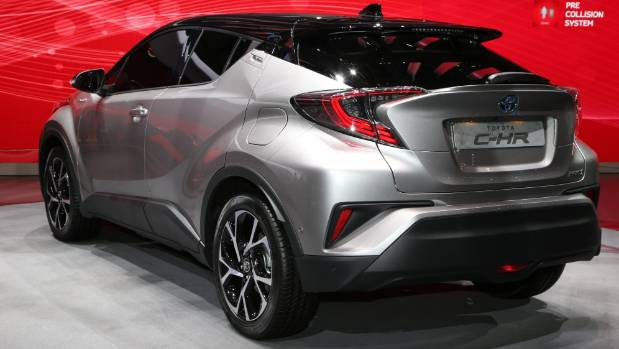 new toyota c hr crossover suv confirmed for nz. Black Bedroom Furniture Sets. Home Design Ideas