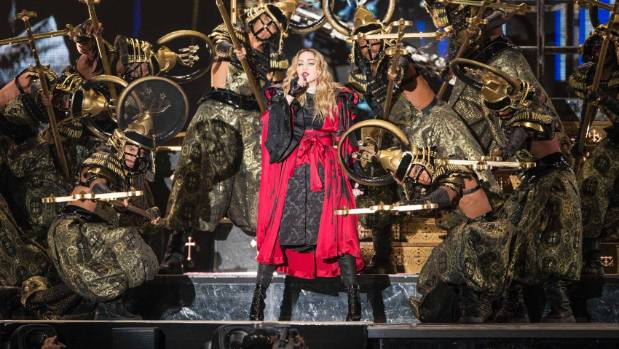 Madonna gets emotional about her son