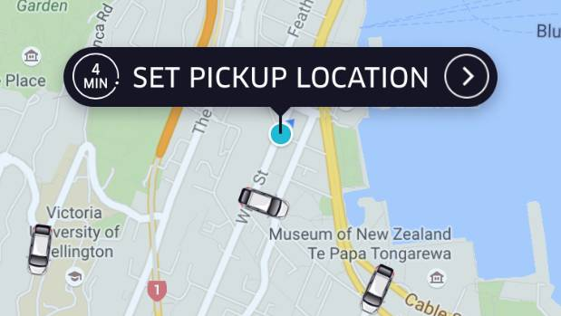 A Wellington Uber driver has been suspended from working amid claims he hit on a 15-year-old girl.