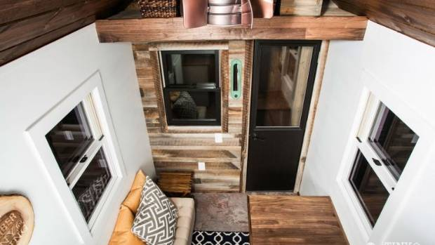 Construction company 84 Lumber have a new range of tiny houses that start at $10500 for the DIY version.