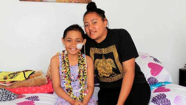 Arsenah Hau, left, was diagnosed with acute mmyeloid leukaemia in April 2015. Her sister Jamie donated bone marrow to ...