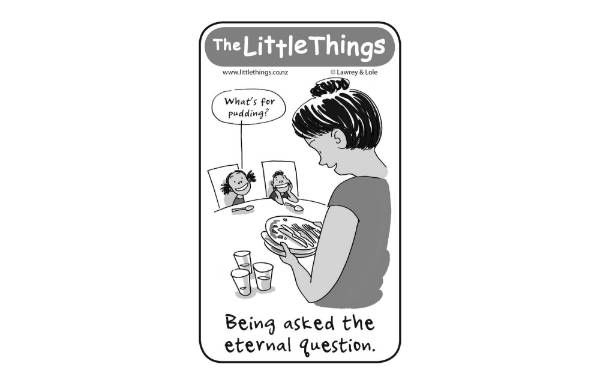 March 10 - Being asked the eternal question.