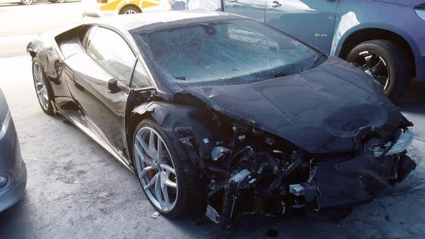The front of the car has suffered heavy damage. But as the engine is located at the rear of the vehicle, the engine ...
