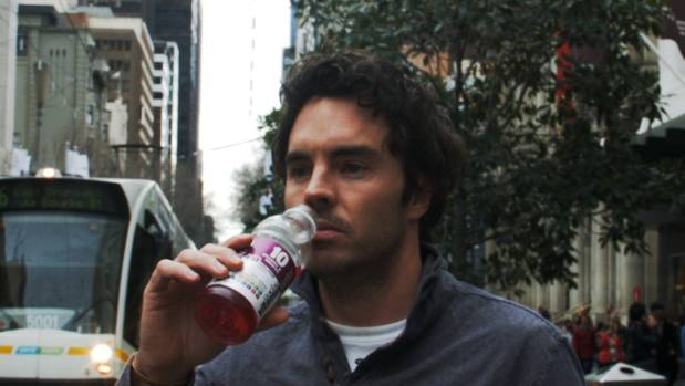 Sugary drinks marketed for 'health' and 'energy' were a quick and easy way for Damon Gameau to boost his daily sugar intake.