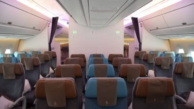 Inside the new plane, the atmosphere will be less dry.
