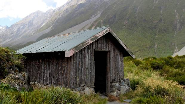 You'll need to tramp 13k to reach these public loos in Mount Cook.