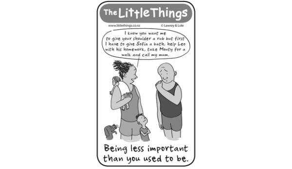 The Little Things, April 12 - Being less important