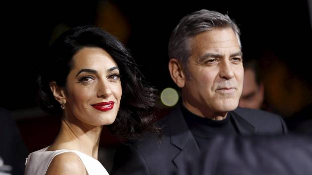 George Clooney is married to successful human rights lawyer, Amal Clooney.