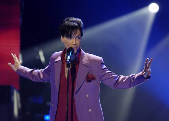 Prince was as well known for his music as his flamboyant stage presence.