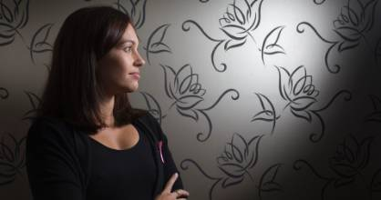After being diagnosed with the BRCA gene, Anna Jobsz reduced her risk of breast cancer from 90 per cent to 1 per cent ...