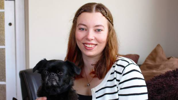 Sid's owner Emma Armstrong says the dog intuitively knows how to look after sick or nervous kittens.
