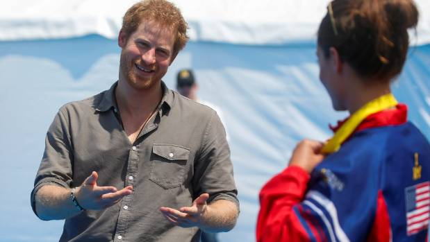 Winner hands back gold Invictus medal to Prince Harry | Stuff.co.nz