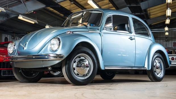 This 1974 Volkswagen Beetle has travelled just 90 kilometres since it was first sold.