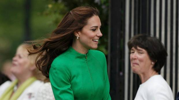 Baking with George is chaos, says Kate