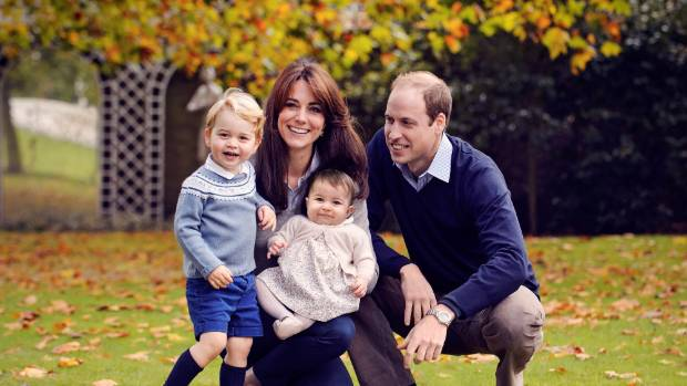 Photos of Catherine, Duchess of Cambridge and her children, Prince George and Princess Charlotte, were among those said ...