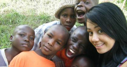 Taupo woman Christine Campbell visits the boy's orphanage she established in Nairobi, Kenya.