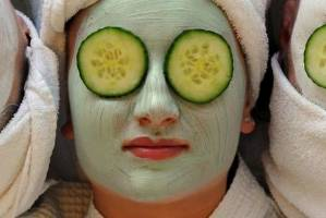 Women undergo cucumber-centric beauty treatments. Artisanal beauty products often tout the power of a particular ...
